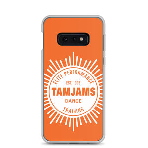 TAMJAMS Sunburst Samsung Case - ORANGE