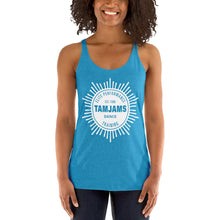 Load image into Gallery viewer, TAMJAMS Sunburst Women's Racerback Tank - 11 COLORS AVAILABLE