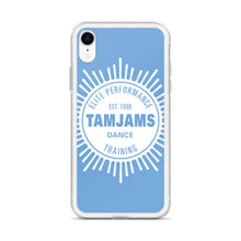 Load image into Gallery viewer, TAMJAMS Sunburst iPhone Case - BLUE