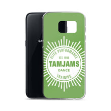 Load image into Gallery viewer, TAMJAMS Sunburst Samsung Case - GREEN