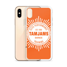 Load image into Gallery viewer, TAMJAMS Sunbrust iPhone Case - ORANGE