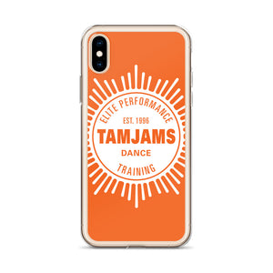 TAMJAMS Sunbrust iPhone Case - ORANGE