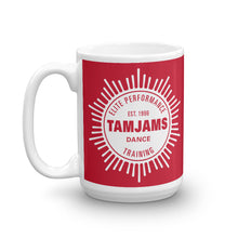 Load image into Gallery viewer, TAMJAMS Sunburst Mug - RED