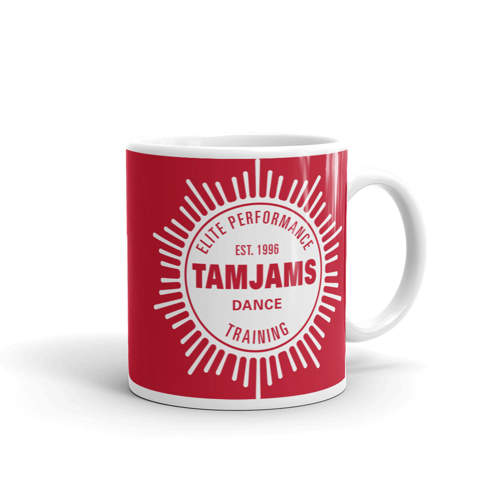 TAMJAMS Sunburst Mug - RED