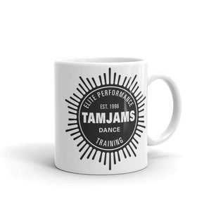TAMJAMS Sunburst Mug - WHITE