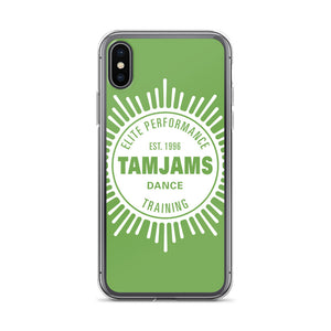TAMJAMS Sunbrust iPhone Case - GREEN
