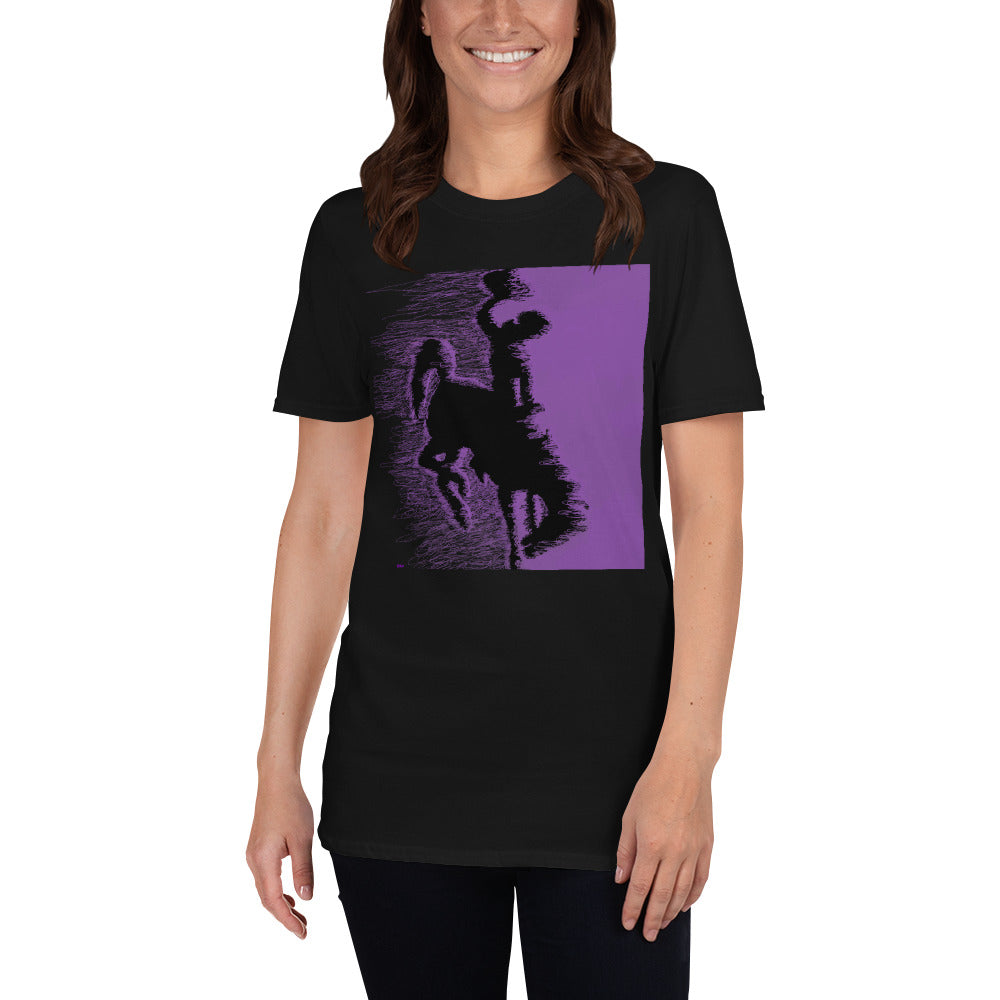 Cowboy Purple Short-Sleeve Unisex T-Shirt