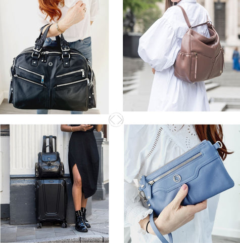 KeriKit Luxurious Leather Changing Bags