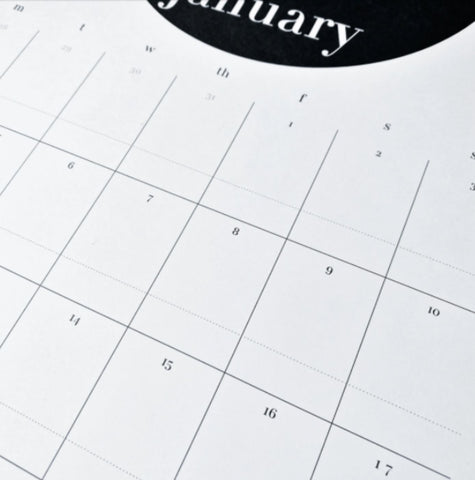 Pretty Post Monthly Planner