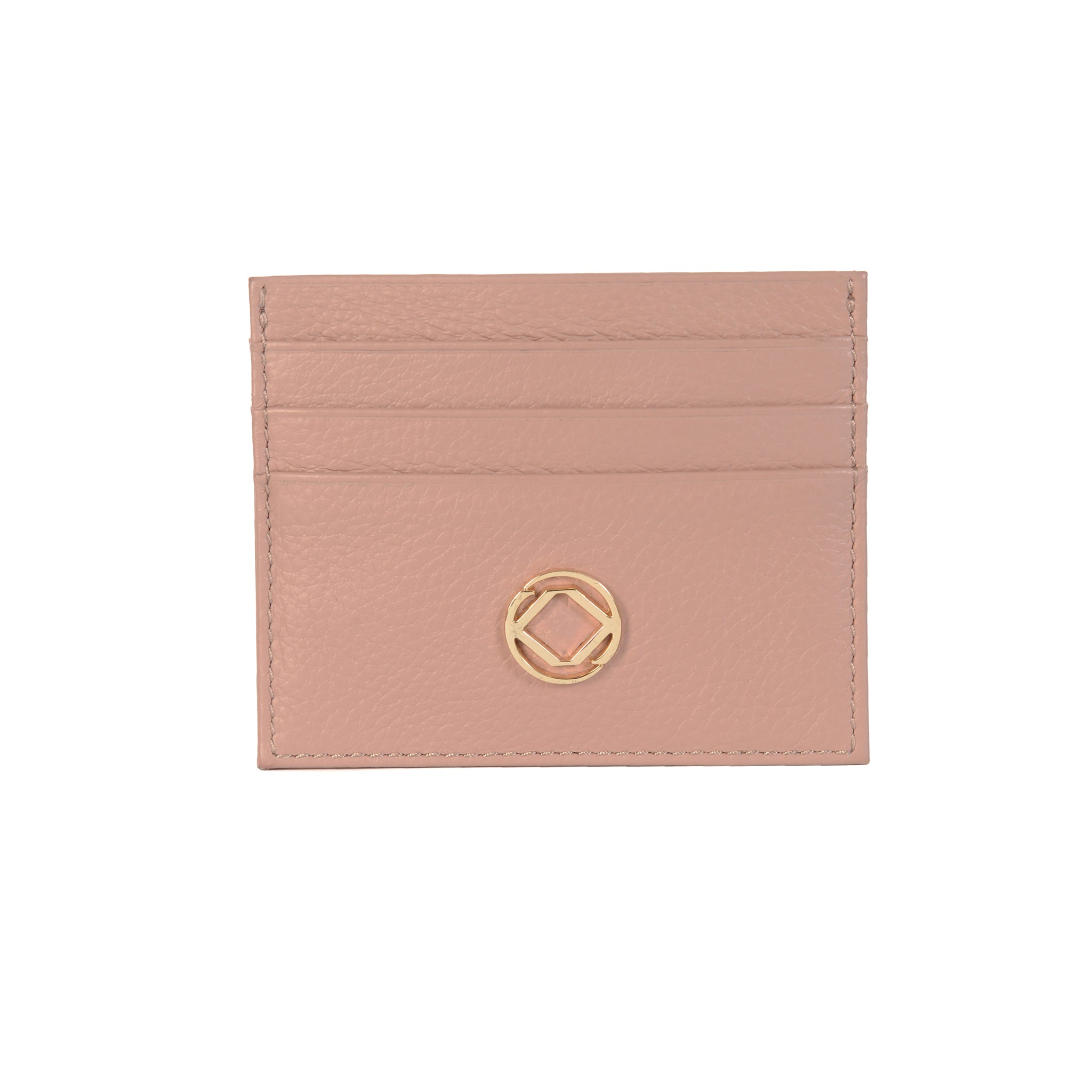 Rosa Leather Business Card Holder - Personalised
