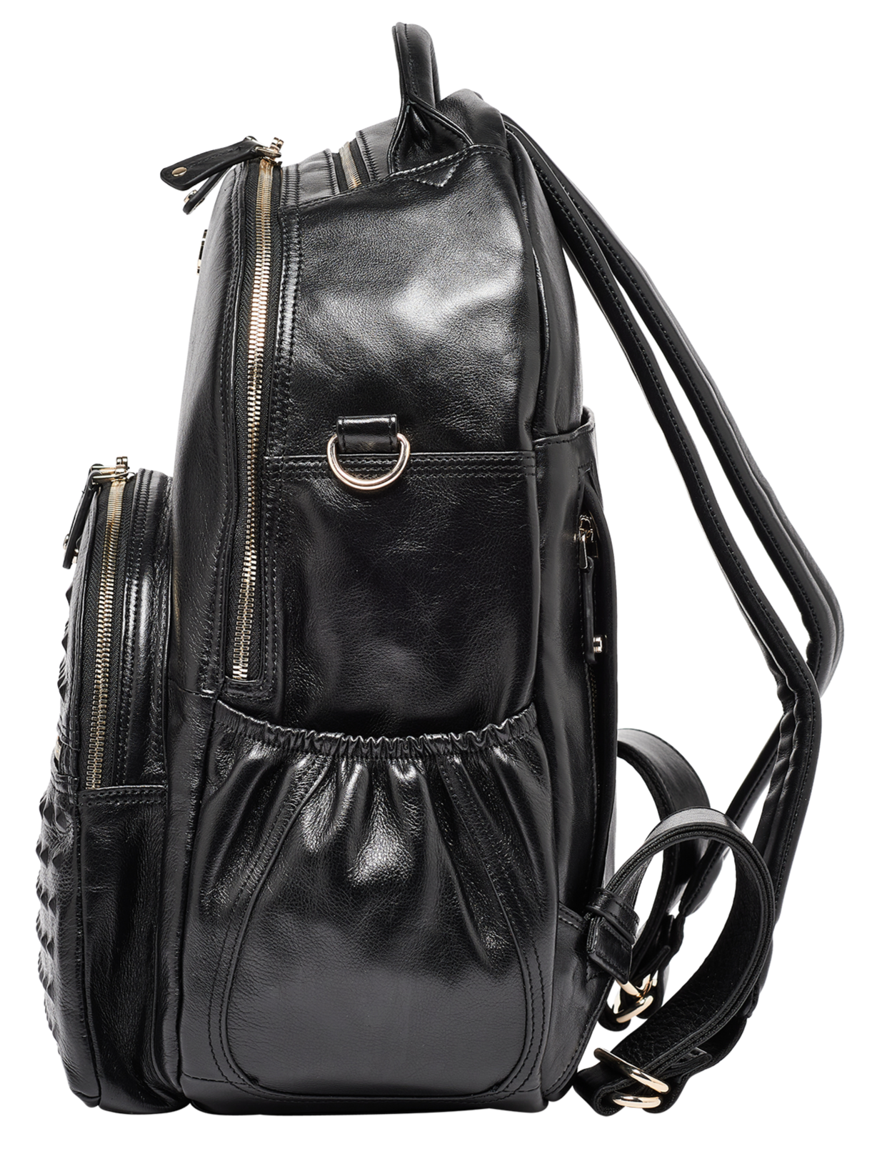 Find the ideal combination of style and practicality with our award-winning black studded backpack. Perfect for stylish women wanting to stay organised.