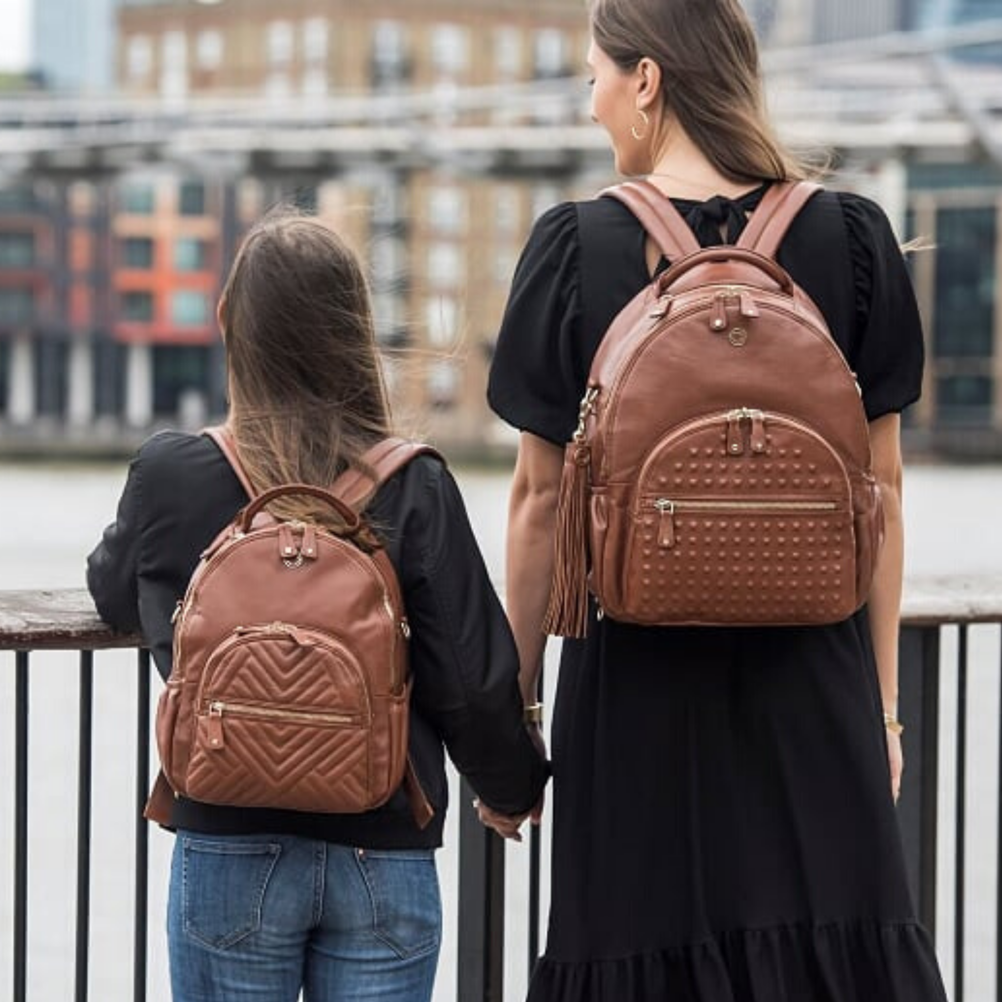 Our award-winning studded leather backpack is adored by stylish women across the world. The perfect everyday bag to feel good and look even better.