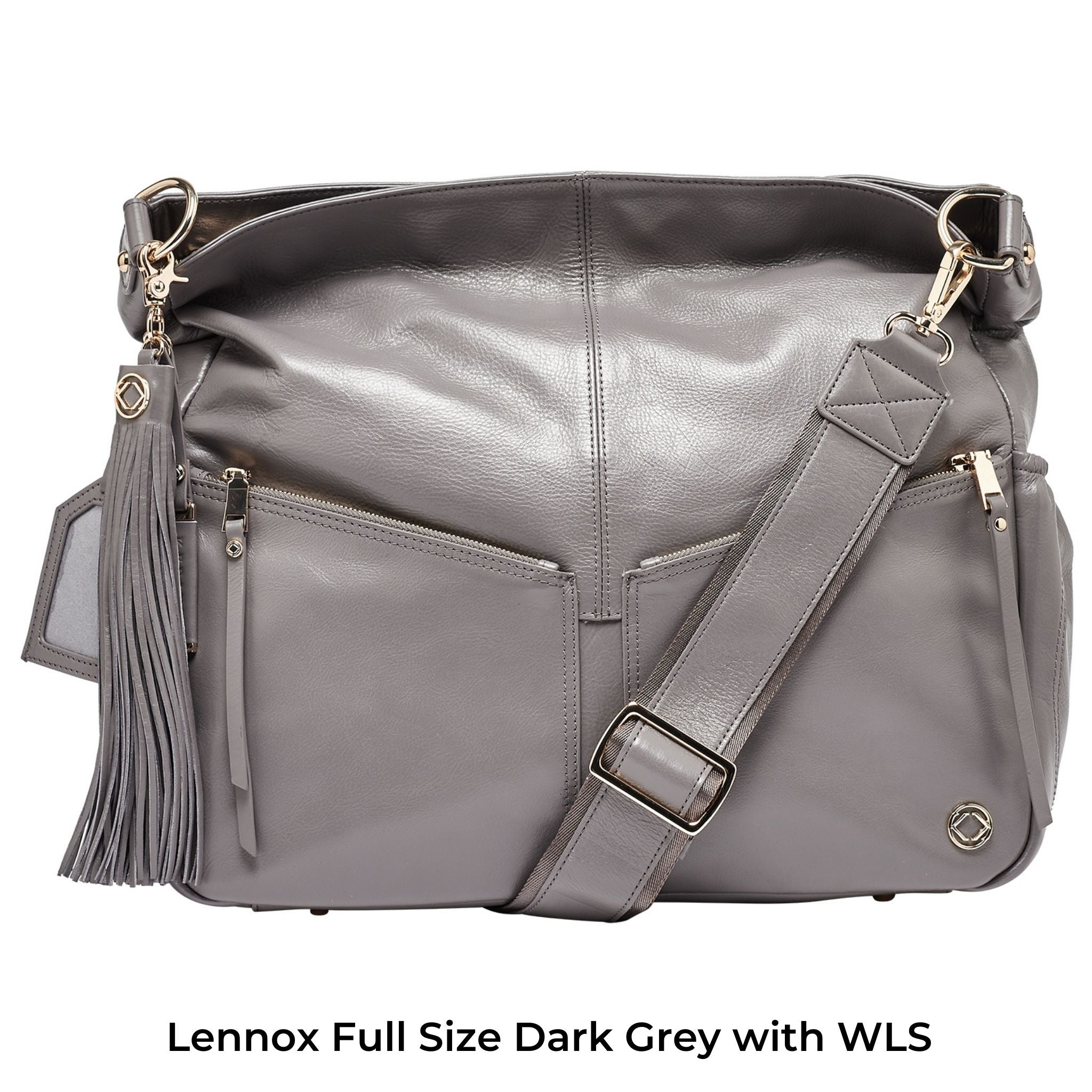 Wide Leather Cross Body Strap - Sale