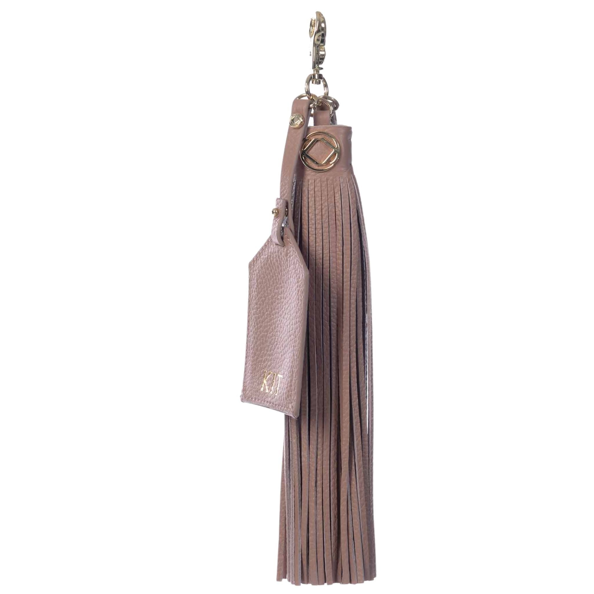 Warrior Leather Keyring Tassel - Includes Personalisation