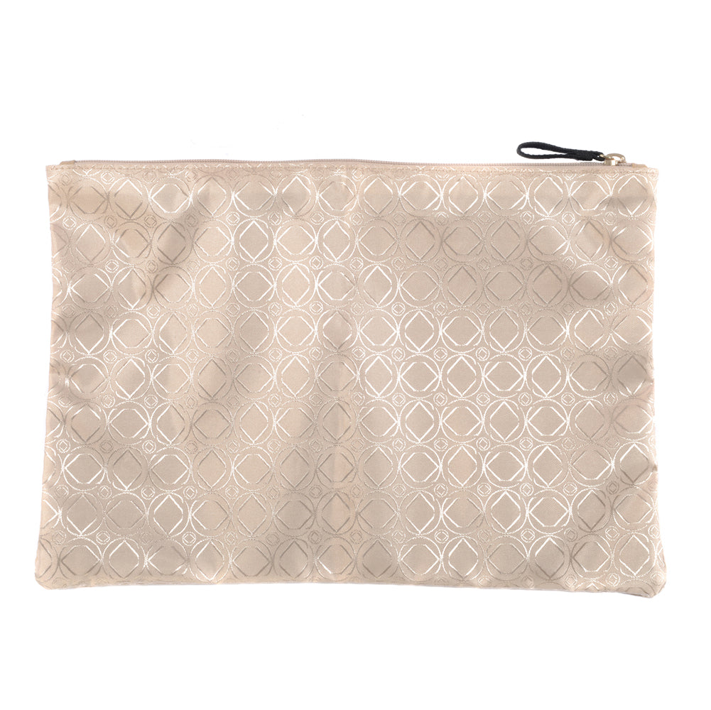 Champagne Zip Top Bag