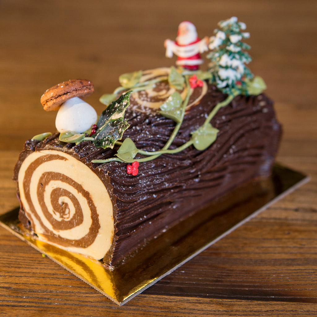 Buche de Noel - Chocolate