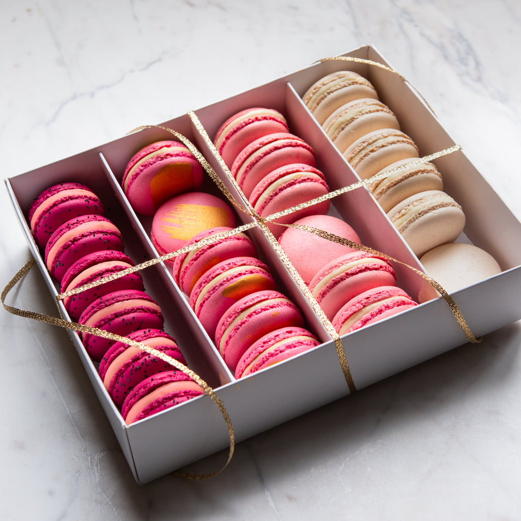Box of 24 Assorted Macarons