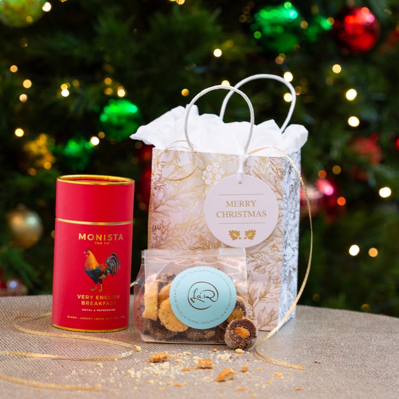 Luxury Tea and Handmade Biscuit Gift Bags