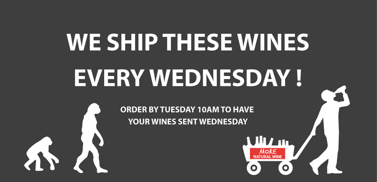 We ship these wines every wednesday!