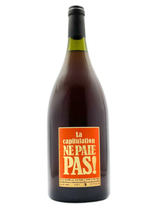 La Capitulation Ne Paie Pas MAGNUM (RARE!) | Natural Wine by Axel Prüfer.
