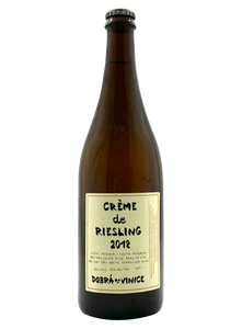 Creme de Riesling 2018 | Natural Wine by Dobra Vinice.