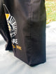 Black Tote Bag with gusset