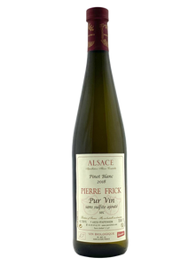 Pinot Blanc 2018 | Natural Wine by Pierre Frick.