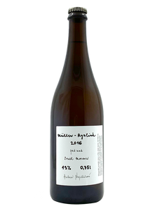 Pet Nat Müller Ryzlink 2016 | Natural Wine by Dobra Vinice.