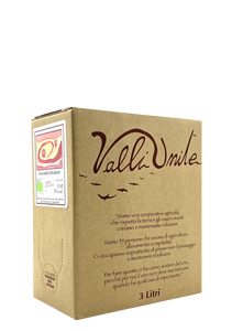 Valli Unite | Box Wine | Bag In A Box Vino Rosso
