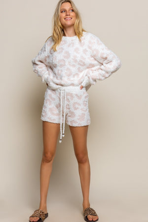 Leopard Cozy Loungewear Shorts