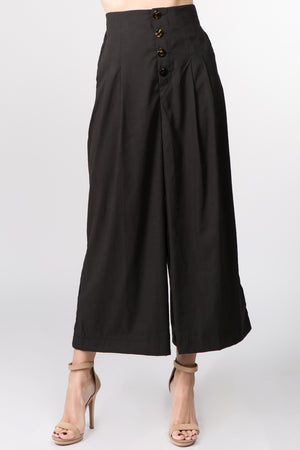 Pleated Gaucho Pant