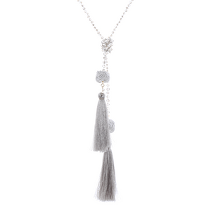 Tassle Ties Necklace