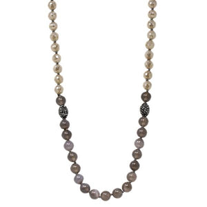 Crystal Cut Bead Strand Necklace