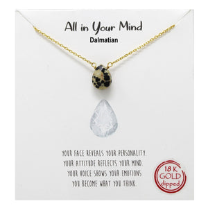 Dalmation Carded Necklace
