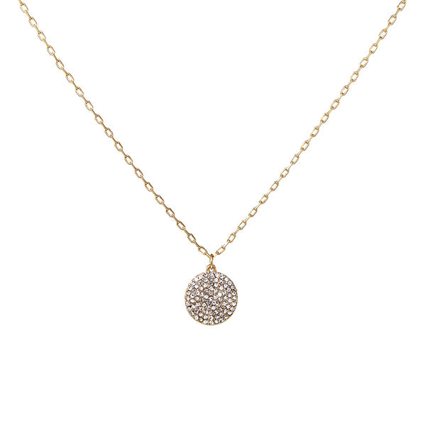 Mini Diamonds Circle Necklace