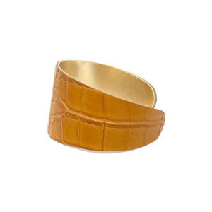 Croc Tapered Cuff