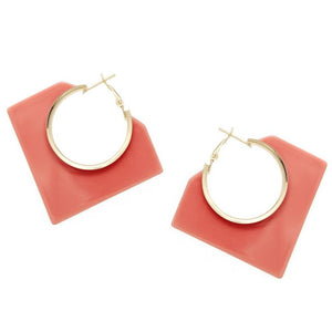 Geometric Resin Hoops