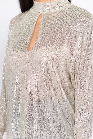 Sequin Party Top