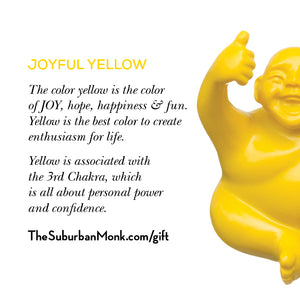 Joyful Yellow Little Syd Monk