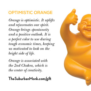 Optimistic Orange Little Syd Monk