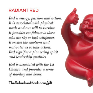 Radiant Red Little Syd Monk