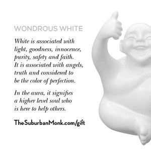 Wondrous White Little Syd Monk