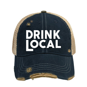 Drink Local Baseball Cap