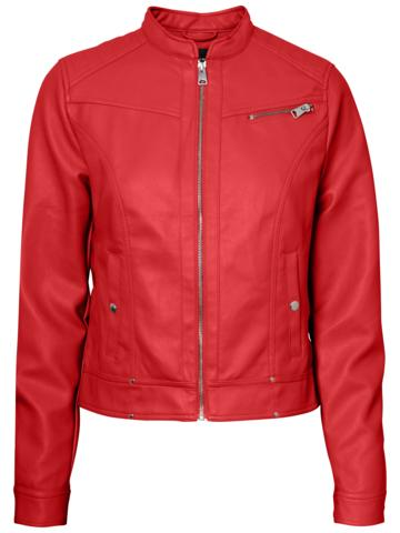 SHEENA SHORT FAUX LEATHER JACKET