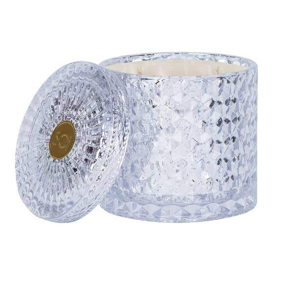 Tis The Season Shimmer Candle Double Wick