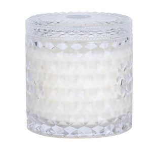 White Gardenia Shimmer Soy Candle Double Wick