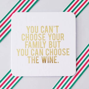 Holiday: You Can't Choose Your Family Coasters