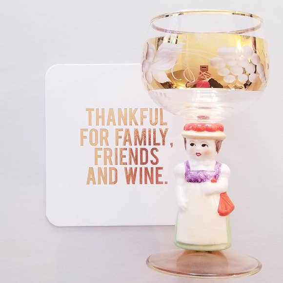 Thanksgiving: Thankful For Wine Coasters