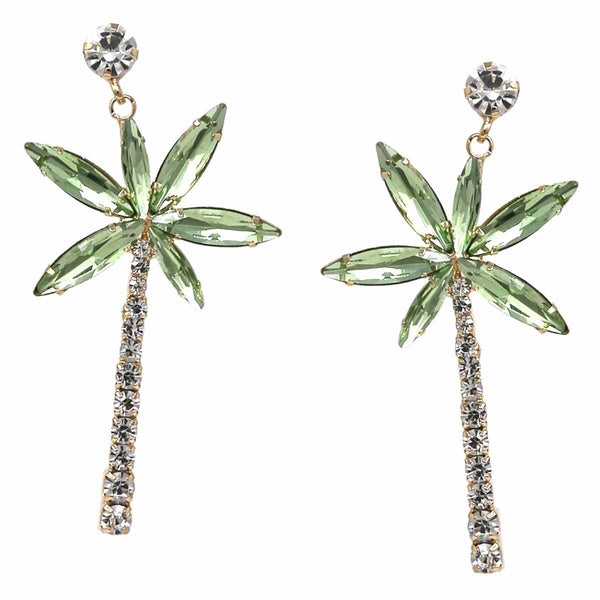 Diamond Palms Earrings