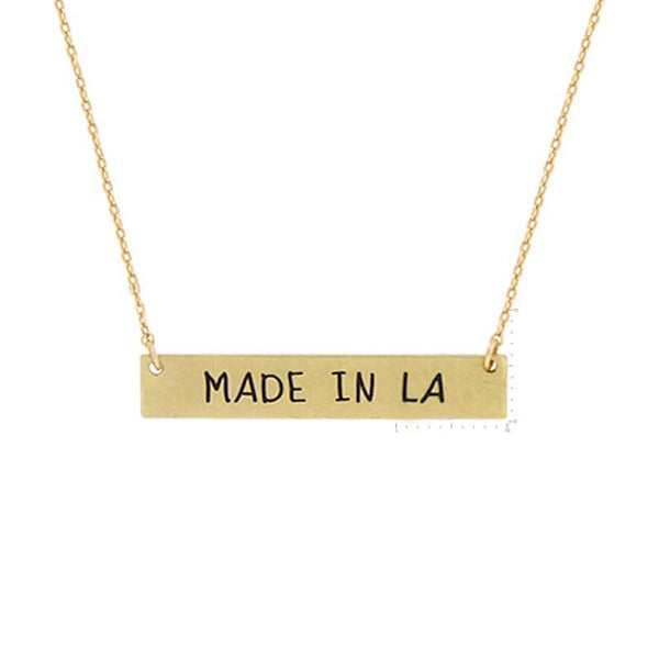 """Made in LA"" Message NL"